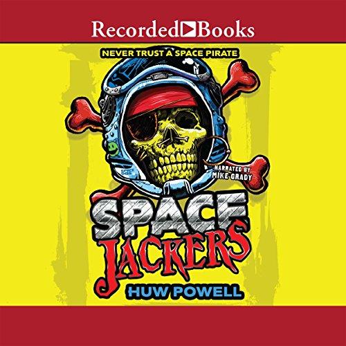 Spacejackers audiobook cover art