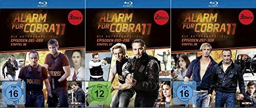 Alarm für Cobra 11 - Staffel 36-38 im Set - Deutsche Originalware [8 Blu-rays]