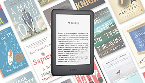 Kindle - Now with a Built-in Front Light - Black - Ad-Supported
