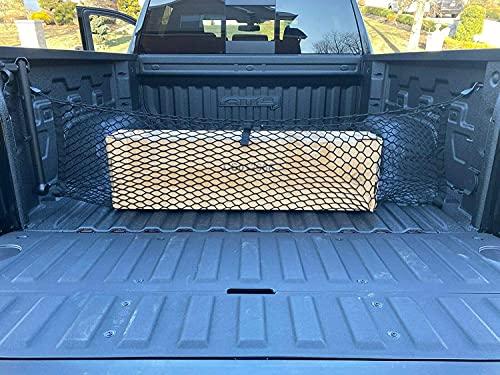 Envelope Style Trunk Mesh Cargo Net - Chevy Silverado Accessories WT LS LT LTZ 2013-2022 - Premium...