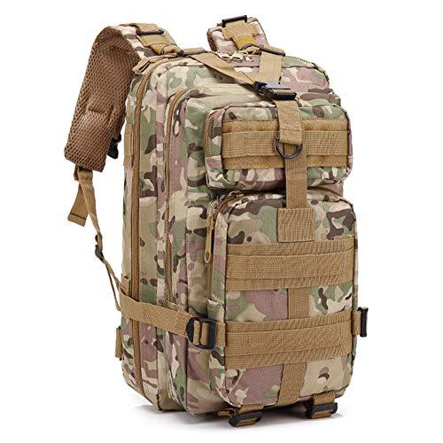 BBYaki Outdoor Sac Dos Tactique Militaire, Molle Assault Sac Dos Alpinisme Randonnée Camp Militaire Randonnée Camping Équipement Formation Chasse 3P Sac Dos,CP