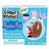 Finders Keepers Peppa Pig Milk Chocolate Candy Egg & Toy Surprise (Pack of 6)
