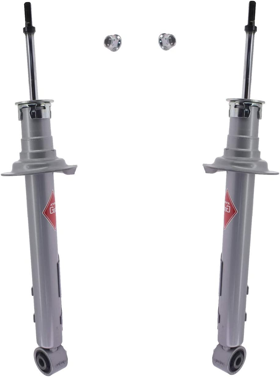 Pair Set of 2 Rear KYB Suspension For 1着でも送料無料 『4年保証』 Gas-a-just Lexus Struts IS