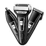 Multi Battipista Rasoio Kit,testa,tutti-pollici-uno Trimmer Rasoi Rasoi,e Faccia,uompollicii's Elettrico Rasoi,per Barba Nero