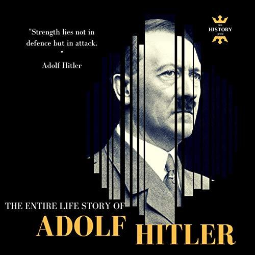 Adolf Hitler audiobook cover art