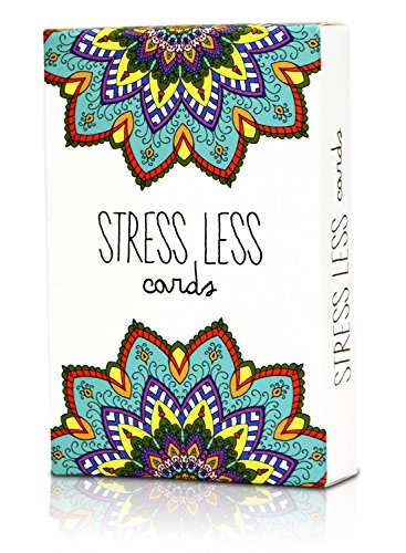 Stress relief cards gift