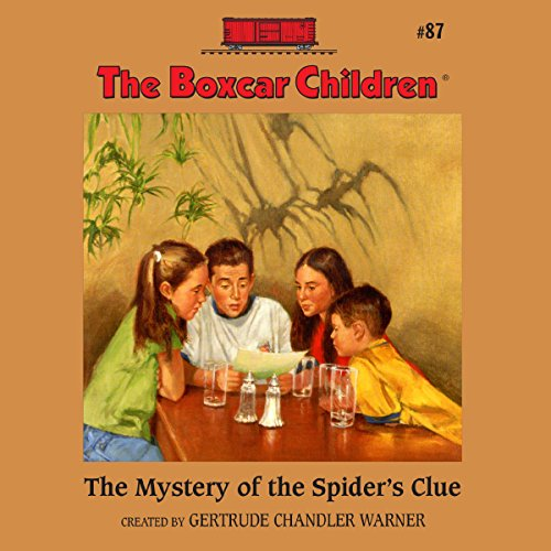 The Mystery of the Spider's Clue audiobook cover art
