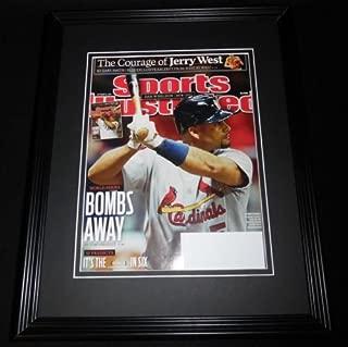 Albert Pujols Framed 11x14 ORIGINAL 2011 Sports Illustrated Magazine Cover