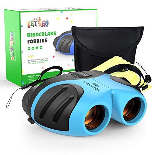 SOKY 3-8 Jahre Jungen Spielzeug für draußen, Kinderfernglas Geschenke für Kinder 3-8 Jahre Fernglas Teleskop für Mädchen Spielzeug für Jungen 3-8 Jahre Kinder Geschenke Binoculars Opernglas