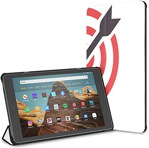 Estuche para el Campo de Tiro Target Shot Rifle Fire HD 10 Tablet (9.a / 7.a generación, versión 2019/2017) Funda para Kindle Funda para Kindle Fire HD 10 Tablet Auto Wake/Sleep para Tableta de 10.