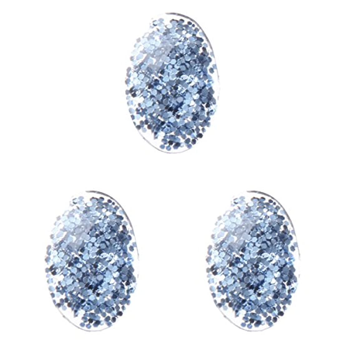 球体の頭の上アノイ<エトゥベラ>ファンタジーストーン オーバル3×5mm(各30個) ブルー(3x5mm)