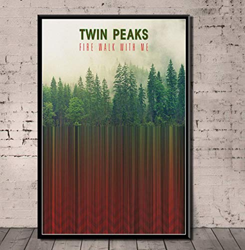 REDWPQ Twin Peaks Poster TV Series Shows Classic Movie Posters...