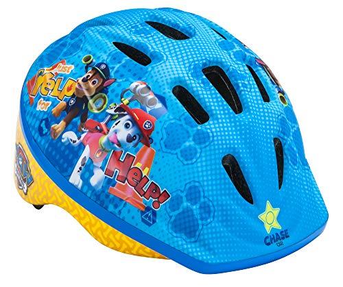 Nickelodeon Paw Patrol Kids Bike Helmet, Toddler 3-5 Years, Adjustable Fit Vents, Skye, Blue