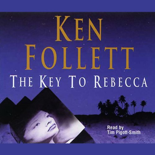 The Key to Rebecca audiobook cover art