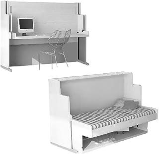 Mobelkidz Mesa de Cama Oculta Modelo Basic con Escritorio | Cama 105 X 190