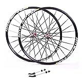 NS Ultraligero MTB 26, for Bicicleta de Ruedas de aleación de Aluminio de Doble Pared del Borde del Disco de Freno V-Sealed Velocidad Rodamientos 8/9/10/11 Actuación (Color : B, Size : 26inch)
