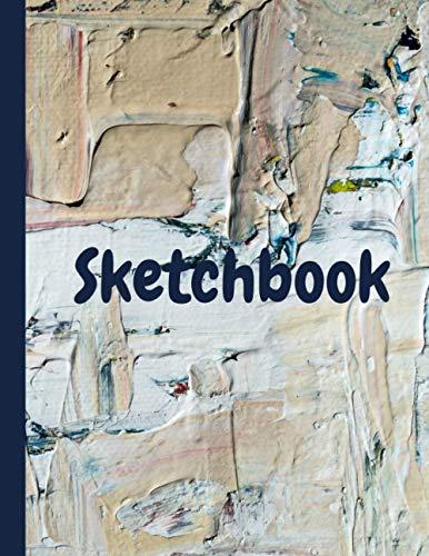 Sketchbook: El regalo perfecto para dibujar, pintar, garabatear, diseñar, crear. 8.5 x 11 púlg. 120 hojas blancas.