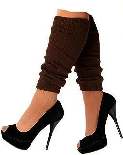 krautwear Damen Beinwärmer Stulpen Legwarmers Overknees gestrickte Strümpfe 80er Jahre 1980er Jahre