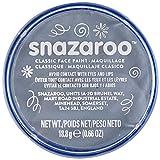 Snazaroo Classic Face and Body Paint, 18ml, Dark Grey