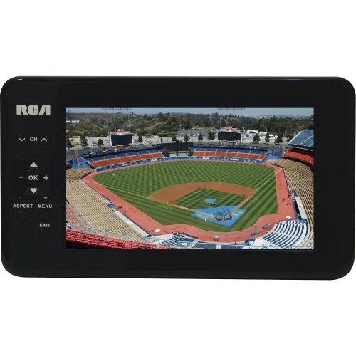 RCA 7' Portable Widescreen LCD TV with Detachable Antenna