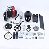49CC 4-Stroke Gas Petrol Motorized Bike DIY Engine Motor Kit Scooter+Chain Drive Bicycle Scooter Conversion kit (with belt)