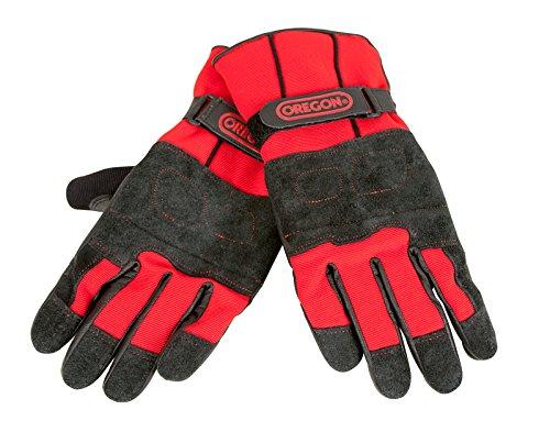 Oregon Fiordland diseño de A de invierno guantes protectors para sierra, 295485/XL