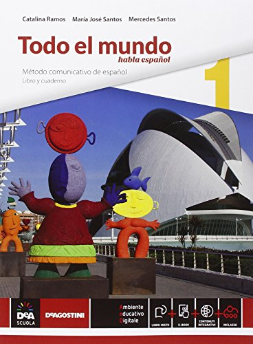 Todo el mundo 1. Con e-Book e DVD [Lingua spagnola]