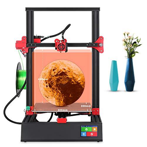 """Lian Tao 3D impresora nueva actualización M18 Pro 96% montado gran tamaño 300x300x400mm placa base silenciosa con pantalla táctil inteligente de 3.5""""y reanudar la impresión DIY impresoras."""