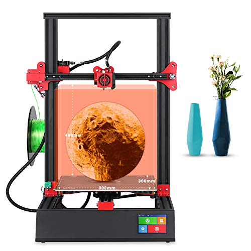 Stampante 3D New Upgrade M18 Pro 96% Assembled 300 x 300 x 400 mm FDM Printer 3.5 pollici Smart Touch Screen Full Metal Frame Resume Printing DIY Printer