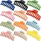 12 Pieces Big Hair Claw Clips, Messen Large Jaw Clips Non Slip Hair...