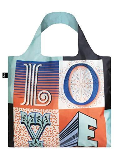 LOQI LOQI Martina Flor Love Bag Reise-Henkeltasche, 50 cm, Love