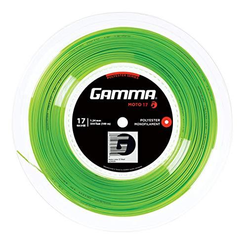 Gamma Tennissaite Moto 17 (1.24 mm) Lime 100 m Rolle