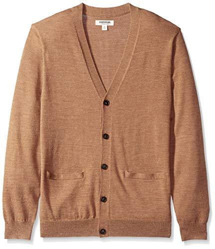 Amazon Brand - Goodthreads Men's Lightweight Merino Wool Cardigan...