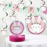Bunny Party Birthday Decorations Kit