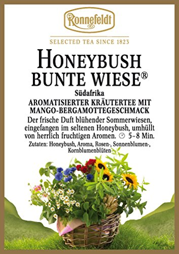 Ronnefeldt - Honeybush Bunte Wiese® - Aromat. Kräutertee aus Südafrika - 100g