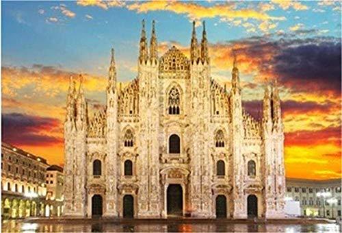 Rompecabezas De 1000 Piezas Hobbit Milan Duomo Hobby Decoración del Hogar