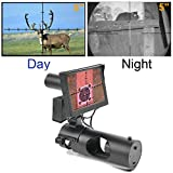 BESTSIGHT Digital Night Vision Scope for Rifle Hunting with Camera and 5' Portable Display Screen