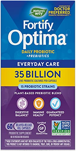 Nature's Way - Primadophilus Optima 35 Miliardi di CFU - 60 Capsule vegetariane
