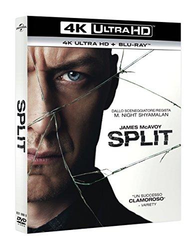 Split (2 Blu-Ray 4K UltraHD + Blu-Ray) [Blu-ray]