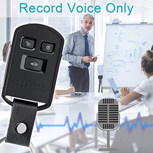 Mini Kamera Überwachung Schlüsselanhänger UYIKOO Kleine Kamera Schlüsselbund 1080P HD Videokamera Bewegungserkennung Haussicherheit Nanny Cam