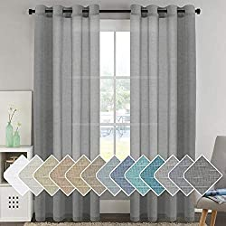 chic light filtering curtain on Amazon.