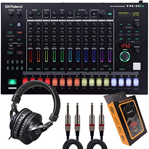 Best Buy! Roland Drum Machine, 128 Patterns (TR-8S+HP2000+QTQ+M)