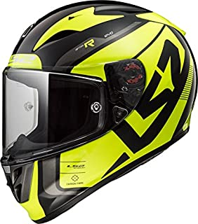 LS2 Helmets Unisex-Adult Sting Motorcycle Helmet (Yellow, Large)