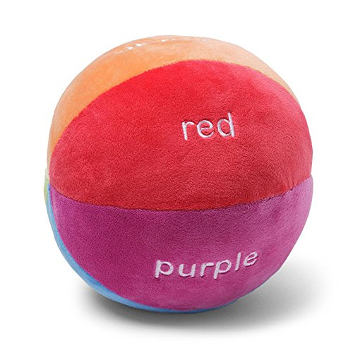 GUND Color Fun Educational Stuffed Plush Rattle Ball