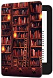 Case for All-New Kindle Paperwhite (10th Generation, 2018 Release) - Premium Lightweight PU Leather Cover with Auto Sleep/Wake for Amazon Kindle Paperwhite E-Reader (Library)