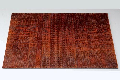 三好漆器『天然木製 ランチョンマット(漆塗り)』