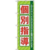 【受注生産品】GNB67 個別指導のぼり [オフィス用品] [オフィス用品] [オフィス用品]