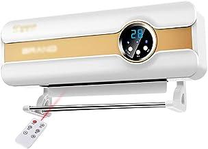 XLOO Radiador Calefactor para baño, con Mando a Distancia, Distancia de Control Remoto de 6 Metros,8 Horas de Tiempo,Panel de visualización Digital Inteligente Adecuado para el hogar