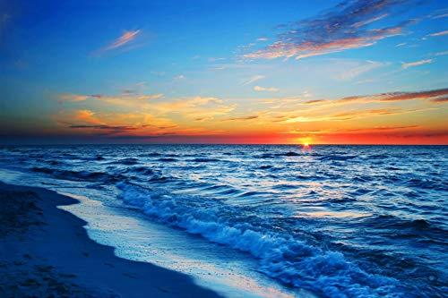 Jigsaw Puzzle 1000 Piece Sea Sunset Beach Landscape Art Paintings