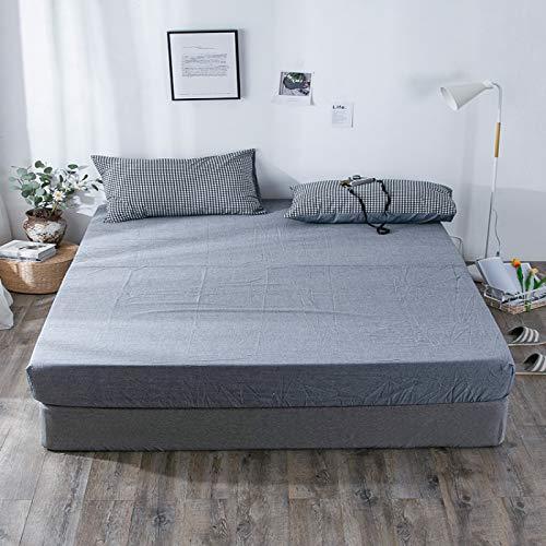 haiba Sleepdown - Sábana bajera ajustable (polialgodón, 150 x 200 + 25 cm)